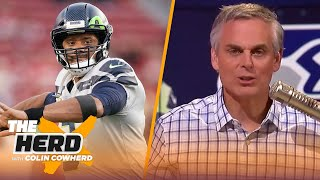 Colin reacts to NFL exec poll on QBs, says Seahawks need to do more to support Wilson | THE HERD by Colin Cowherd