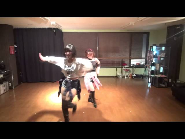 GIRLS FREE STYLE mio& yumi Studio performance dance video Ichkawa city Chiba Japan
