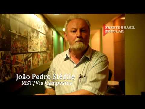 Stédile fala sobre a Frente Brasil Popular