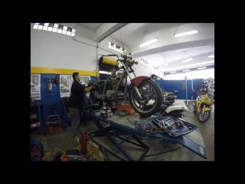 LR Motos - Processo de Manutenção da Kasinski GF 125 Vermelha - 7486