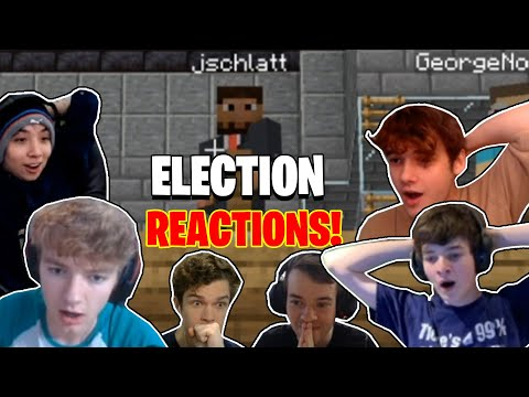 All REACTIONS to the Dream SMP Presidential ELECTION results!