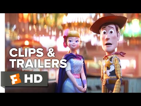 Toy Story 4 ALL Clips + Trailers (2019)   Fandango Family
