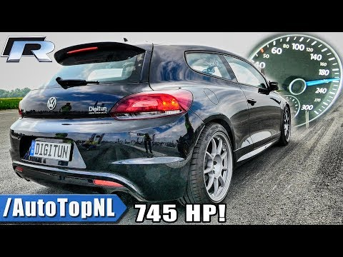 745HP VW Scirocco R 2.0 TSI | ACCELERATION SOUND & 1/2 MILE by AutoTopNL