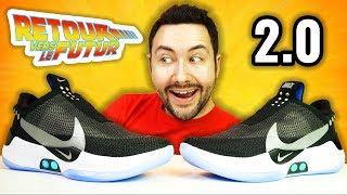 Les Baskets du Futur 2.0 à 350€ Autolaçantes ! (Nike Adapt BB)