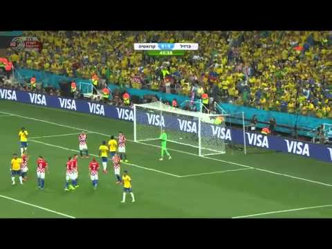 מונדיאל 2014 – ברזיל מול קרואטיה – 12.06.14 ,22-55