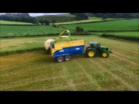 Conder Contracts - Chopping Whole Crop 2016