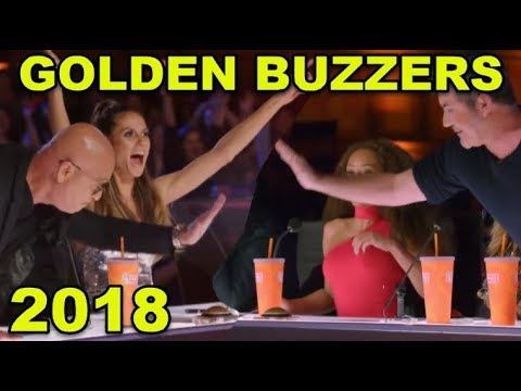 5 Best GOLDEN BUZZERS 2018!