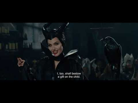 Maleficent (2014) Full English Subtitles - Maleficent's Curse Scene