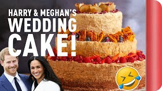 Baking a Royal Wedding Cake | Step Up To The Plate by SORTEDfood
