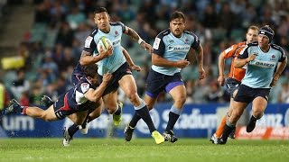 Waratahs v Rebels Rd.13 Super Rugby Video Highlights 2017