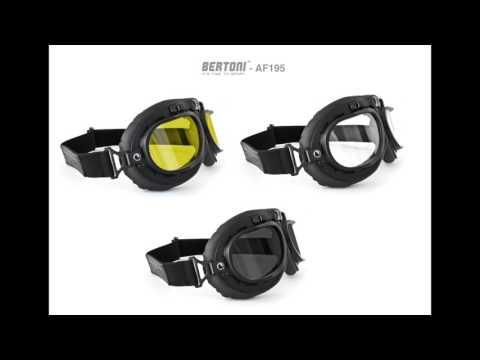 Occhiali Vintage da Moto - AF195 tutorial Bertoni