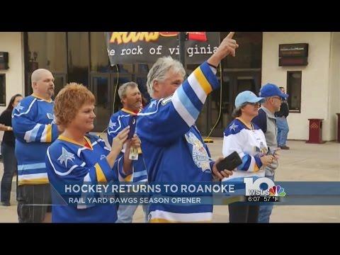 Hockey returns to Roanoke