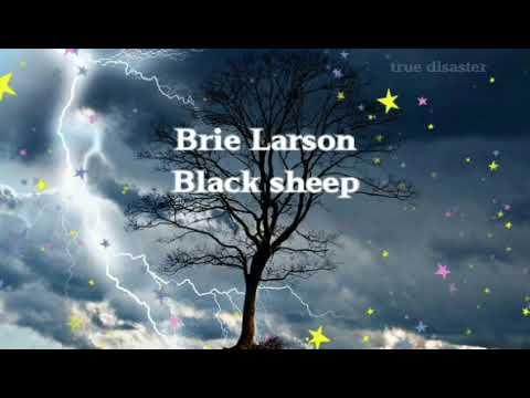 Lyrics//Brie Larson - Black Sheep