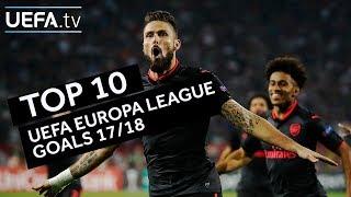Download Video Top ten goals of the UEFA Europa League season MP3 3GP MP4
