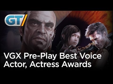 actor - VGX starts a little early! Find out who had the best vocal-chords this year in this special video.