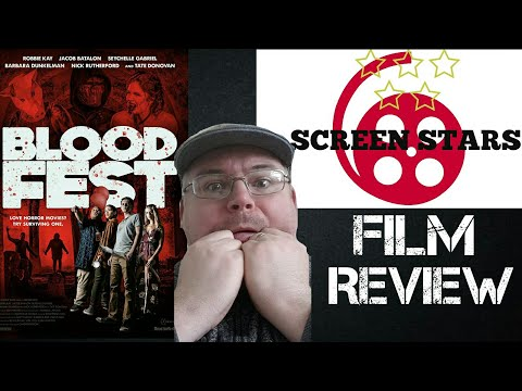 Blood Fest (2018) Horror, Comedy Film Review
