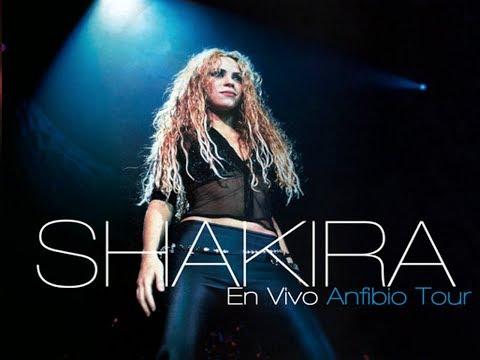 Shakira En Vivo - Anfibio Tour (Completo) HD