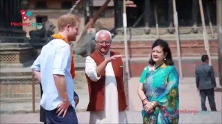 Patan Nepal  City pictures : Prince Harry visits some important area of Patan , Nepal | Daily Exclusive News ( Media Np TV)