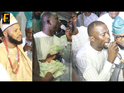 NURTW BIG BOY KUNLE POLY AND DUBAI BIG BOYS, SPOIL SULE ALAO MALAIKA WITH CASH AT WEDDING CEREMONY