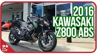 1. 2016 Kawasaki Z800 ABS  | First Ride