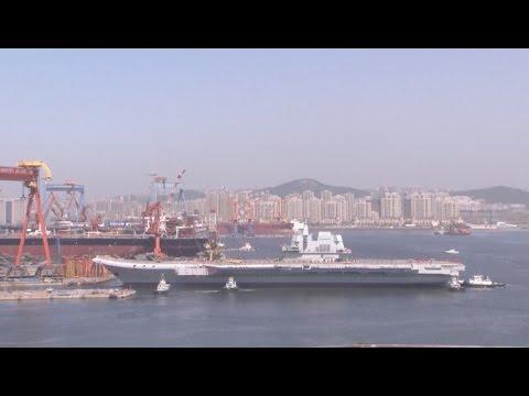 Video - Η Κίνα καθέλκυσε το δεύτερο της αεροπλανοφόρο εν μέσω εντάσεων στη Θάλασσα Νότιας Κίνας