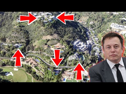 Elon Musk To Get Rid ALL His Mansions In Effort To Sell Off Possessions