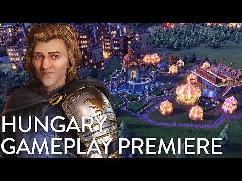 Civilization VI: Gathering Storm - Hungary Gameplay Premiere (Dev Livestream)_Magyarország, Budapest. Heti legjobbak
