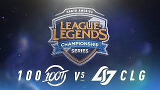 Video 100 vs. CLG - Week 5 Day 2 | NA LCS Spring Split | 100 vs. CLG (2018) MP3, 3GP, MP4, WEBM, AVI, FLV Agustus 2018