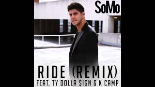 SoMo videoklipp Ride (Remix) (feat. Ty Dolla $ign & K Camp)