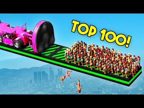 TOP 100 FUNNIEST GTA 5 FAILS EVER! (Funny Moments Grand Theft Auto V Compilation)