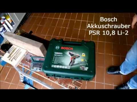 Bosch PSR 10,8 LI-2