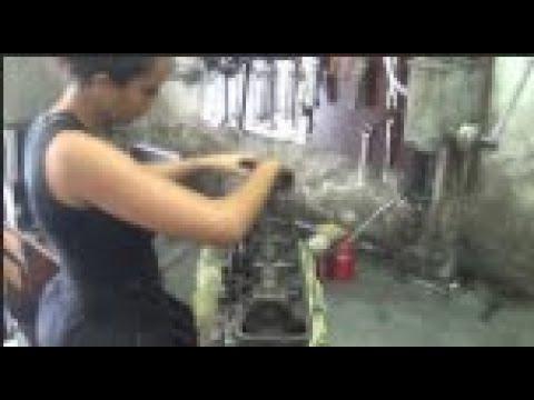 Montagem de cabeçote retificado