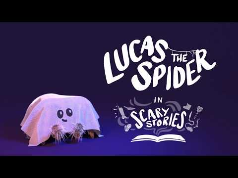 Lucas the Spider in Scary Story