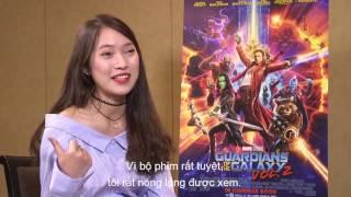 Khánh Vy phỏng vấn dàn diễn viên - Vệ Binh Dải Ngân Hà 2