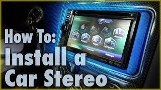 Video How To Install a Car Stereo (Single & Double DIN) | Car Audio 101 MP3, 3GP, MP4, WEBM, AVI, FLV Juli 2018