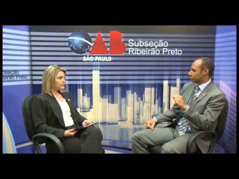 OAB na TV on Line – Ricardo Alves de Macedo sobre violência urbana e segurança pública