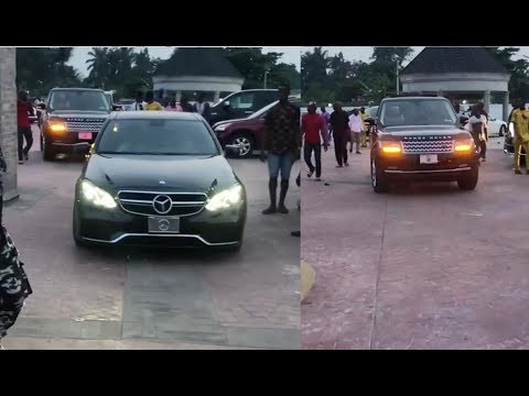 SEE How Nigerian BILLIONAIRE Lockdown His Village With  MONEY