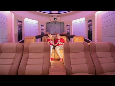 Video Tour Of 15Million Star Trek Home Theater