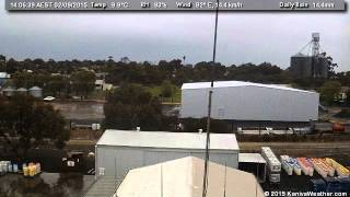 2 September 2015 - South Facing WeatherCam Timelapse