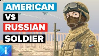 Video American Soldier (USA) vs Russian Soldier - Army / Military Comparison MP3, 3GP, MP4, WEBM, AVI, FLV Juli 2018