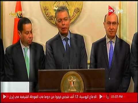 كلمة وزير النقل عقب توقيع إتفاق تأسيس شركة مصرية لإنشاء محطة متعددة الأغراض بميناء الاسكندرية