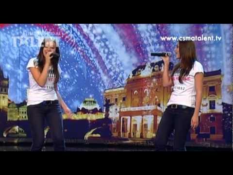 Zuzana a Eva Kollmanové   Česko Slovensko má talent 2011