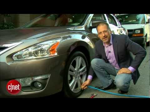 nissan - http://cnet.co/Uab9YL The all-new Altima sharpens it's look and it's tech.