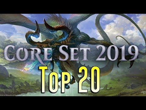 Mtg: Top 20 Cards In Core Set 2019!