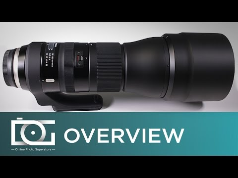 Tamron SP 150-600mm f/5-6.3 Di VC USD G2 Telephoto Zoom Lens   Unboxing Video