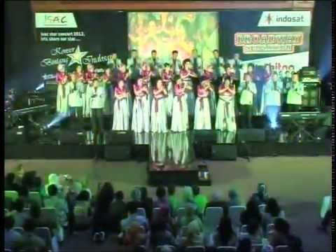 Paduan Suara Indosat i Choir feat Kolintang - Alusi Au