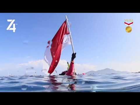 MURI: Kirab Bendera Merah Putih Peserta Terbanyak