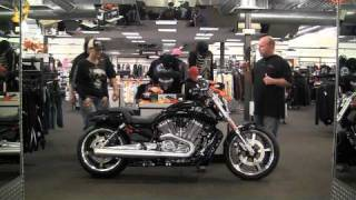 4. 2011 V-Rod Muscle, 1250cc, 130 Hp, Liquid-Cooled V-Twin/ABS, New, 240mm Rear Tire, Black, $16,824