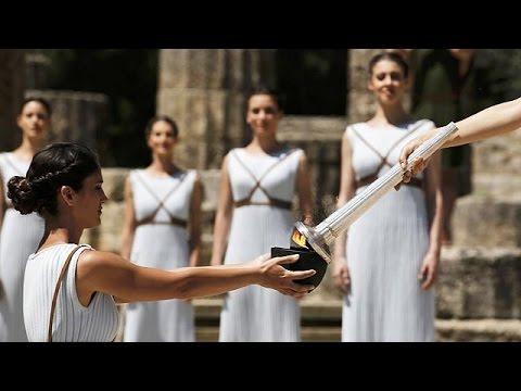 Η Αφή της Ολυμπιακής Φλόγας στη γενέτειρα του Ολυμπισμού