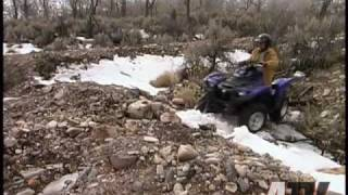 8. 2009 Yamaha Grizzly 700 EPS - ATVTV Test Video